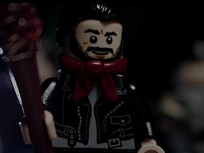 La escena de Negan en versión Lego, la imagen de la semana