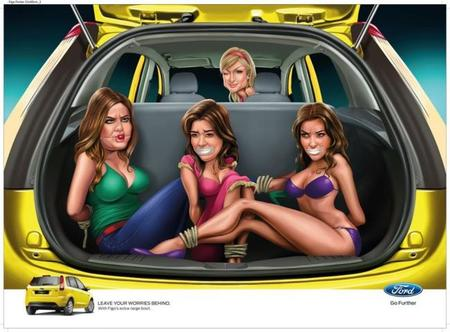 Ford Figo Paris Hilton