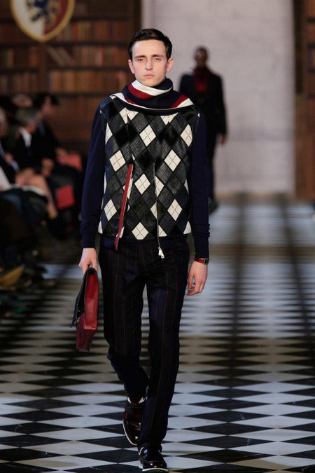 Rayas y rombos Tommy Hilfiger AW 2014