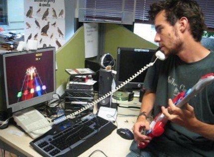 Frets on Fire y el mando guitarra