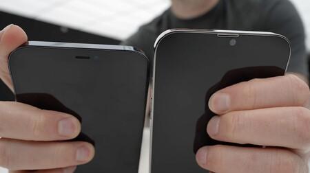 Una maqueta de iPhone 13 Pro Max apunta a un 'notch' más pequeño y cámaras más grandes