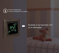 Interruptores con luz para la habitación infantil