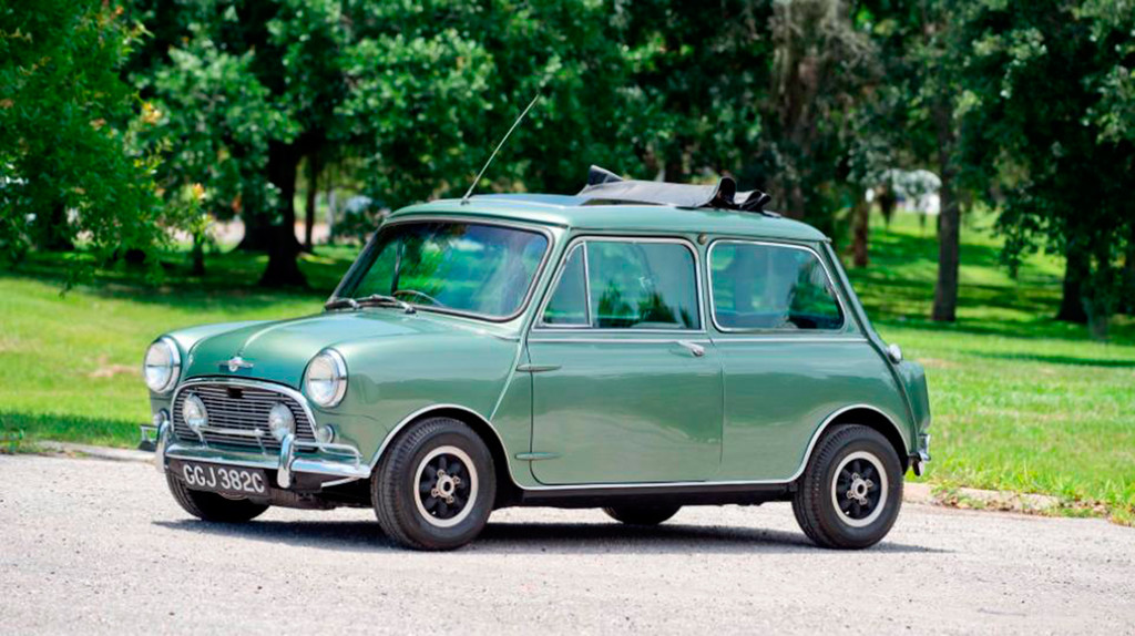 El Mini Cooper S Deville de Paul Mccartney, a subasta