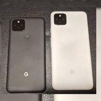 Los Pixel 4a 5G y Pixel 5 se filtran en foto: uno más grande que el otro, pero idénticos en diseño con sensor de huellas trasero