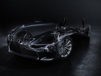 El nuevo Lexus LS se prepara para Detroit