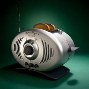 Radio- tostadora, ahorra espacio