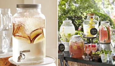 Preciosas jarras con grifo incorporado