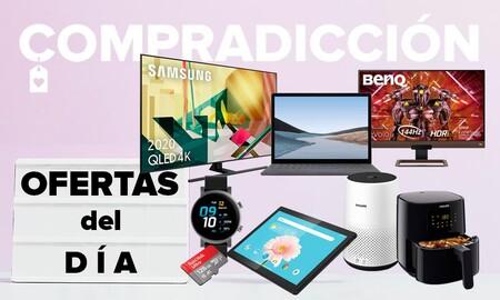 Ofertas del día en Amazon: smart TVs Samsung y LG, pequeño electrodoméstico Philips, portátiles Surface, tabletas Lenovo o monitores BenQ a precios rebajados