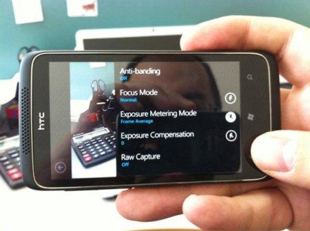 El Windows Phone Mango con cámara de 12 megapíxeles que viene