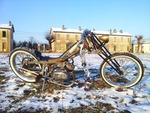 Tobec 41C HOOD Ride, una chopper de 50 cc