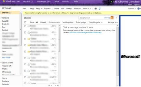 """Microsoft restaura los """"correos perdidos"""" de los usuarios de Hotmail"""