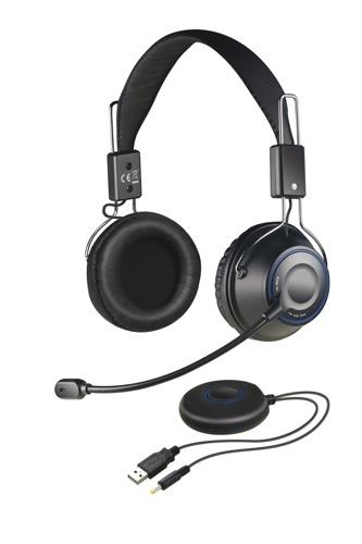 Creative HS-1200, auriculares y micrófono inalámbricos