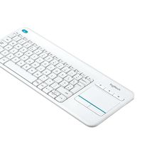 Teclado inalámbrico Logitech K400 Plus, ideal para Smart TV, por sólo 20,99 euros