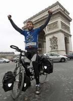 Récord de vuelta al mundo en bicicleta
