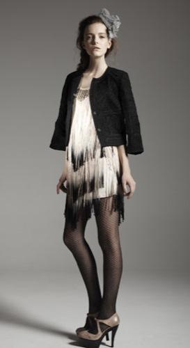TopShop, colección Primavera-Verano 2010: informal y moderna, catálogo completo, vestido de flecos
