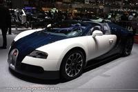 Bugatti Veyron Grand Sport en Ginebra, vendidos por 1,7 millones de euros