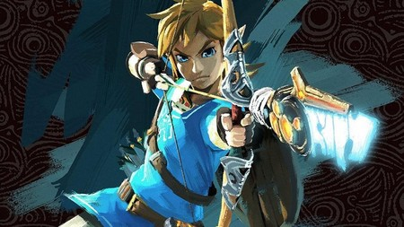 An Image Of Link In The New Zelda Breath Of The Wild Video Game