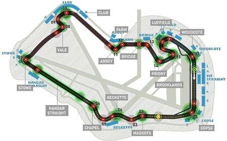 Análisis técnico del circuito de Silverstone