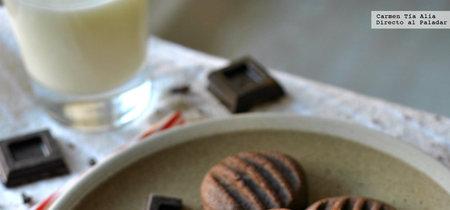 Galletas fáciles de chocolate. Receta de Nigella Lawson