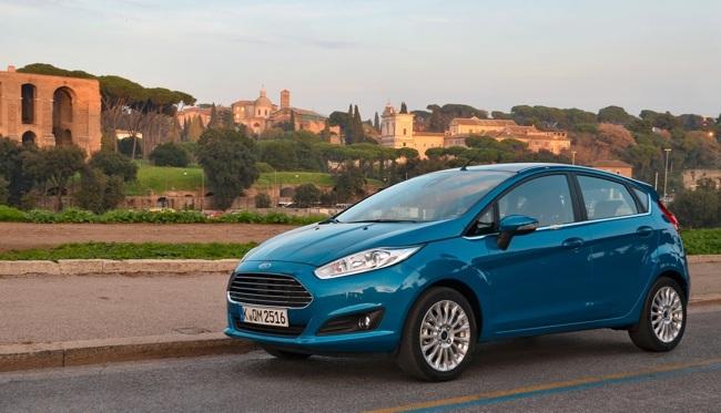 Ford Fiesta 2013 en Roma