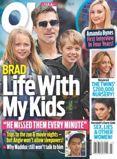 Brad y los niños