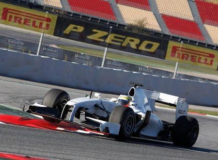 Pirelli completó su último test del año