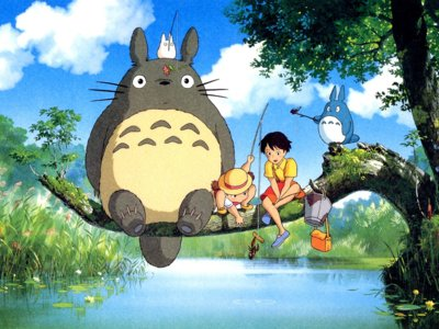 Animación   'Mi vecino Totoro', de Hayao Miyazaki