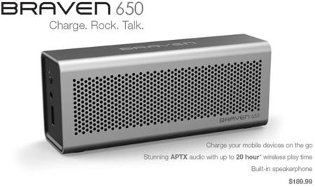 Braven nos presenta sus altavoces inalámbricos que cargan nuestros teléfonos