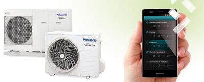 Panasonic presenta un sistema de control a través de smartphone para su sistema Aquarea
