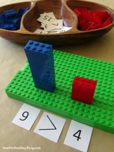 Primeras nociones de matemática con bloques de Lego