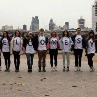 "Flashmob ""griego"" en Londres"