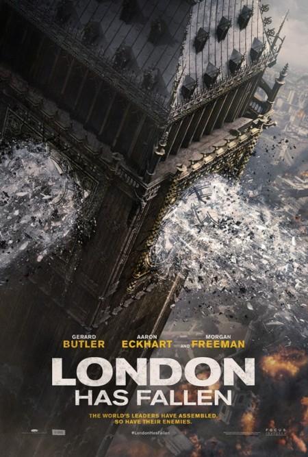 Primer póster de London Has Fallen