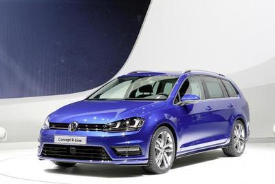 Volkswagen Golf Avant Concept R-Line