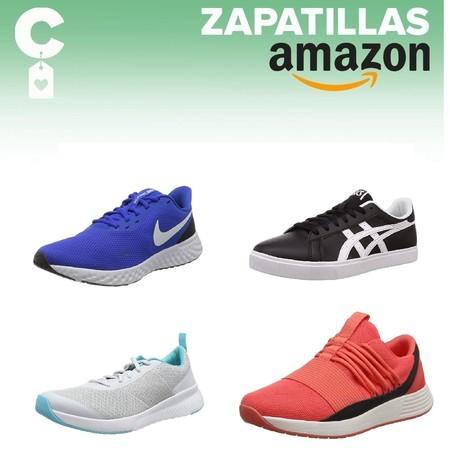 Chollos en tallas sueltas de zapatillas Nike, Asics o Under Armour en Amazon