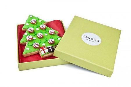 Un lujo de Navidad: Carlota's Card, galletas artesanales como felicitación navideña