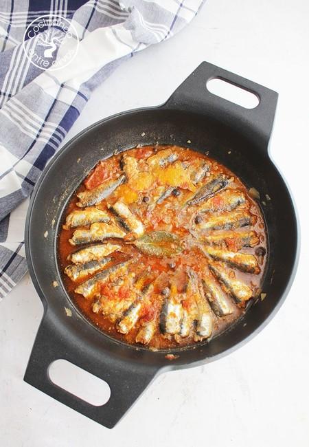 Sardinas Al Minuto Www Cocinandoentreolivos Com