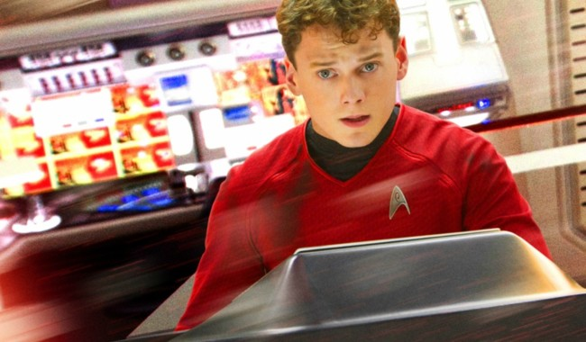Anton Yelchin como Pavel Chekov (Star Trek)