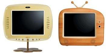 Televisores retro con pantalla LCD de Hannspree