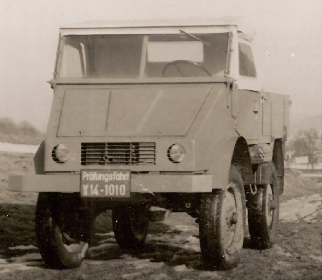 Foto de Mercedes-Benz Unimog (1946-2016) (3/15)