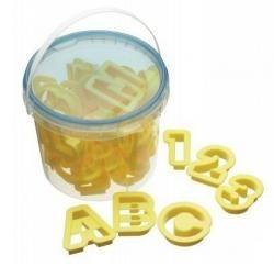 Galletas para aprender el abecedario y los números