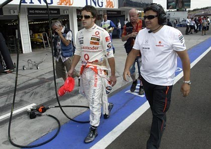 Fabrizio Borra 'espiará' a Hamilton para Alonso
