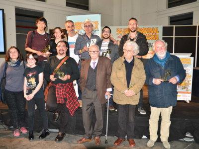 Josep Maria Blanco, Gran Premio de un Salón del Cómic con censura incluida
