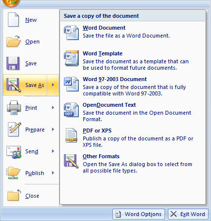 Office 2007 SP2 disponible: ahora con soporte para PDF y OpenDocument