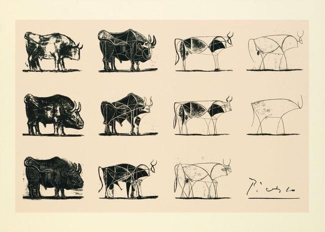 Toros de Picasso Steve Jobs