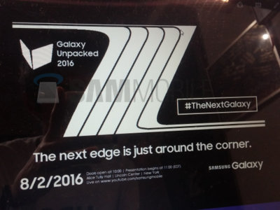 Samsung presentará su próxima phablet el 2 de agosto