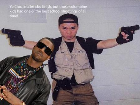 Kanye interrumpe a Cho