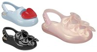 Mini Melissa: sandalias de plástico para pequeñas princesas