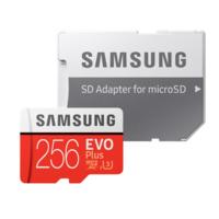 Tarjeta MicroSD Samsung EVO Plus, con 256GB de capacidad, por 99 euros y envío gratis