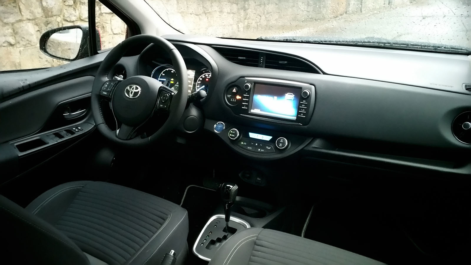 Pasamos unos días con el Toyota Yaris hybrid-Interiores
