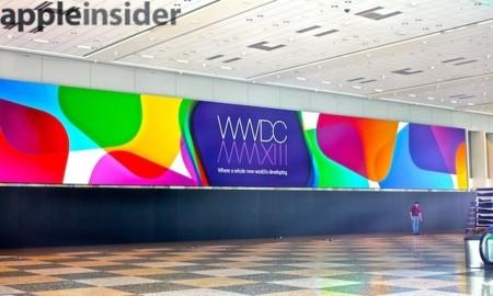 Apple comienza los preparativos para la WWDC 2013, fotografías del interior